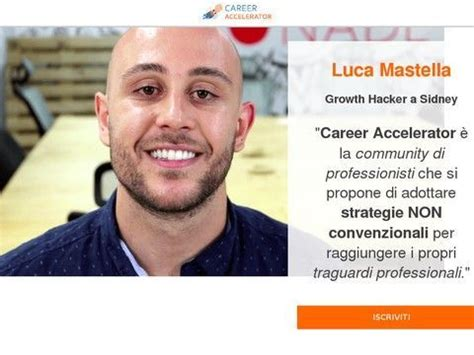 [click]career Accelerator  Il Modello Vincente Per Fare Carriera.
